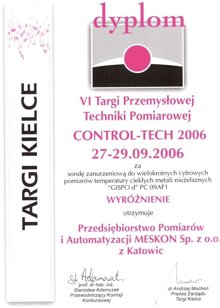 Dyplom-VI-Targi-Przemyslowej-Techniki-Pomiarowej-Meskon