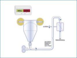 Sygnalizator poziomu ProGap - przetwornik mikrofalowy
